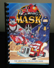 100% Unofficial Kenner M.A.S.K Collectors Guide Book
