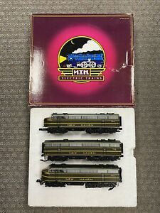 + MTH O Scale Premier New Haven C-Liner ABA Diesel Engine Set w/ PS.2 20-2733-1