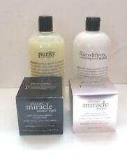 Lot of Unopened Philosophy Products Miracle Worker Creams Facial Cleanser Wash