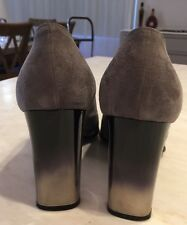 Di Sandro, Suede High Heeled Shoes, Size 8