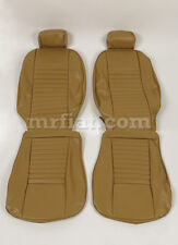 Fiat 124 Coupe Beige Seat Covers Set New