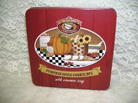 Autumn Tin Box Pumpkin Spice Cookie Co.