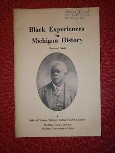 VINTAGE-Black Experiences in Michigan History- Reginald Larrie