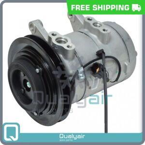 AC Compressor fits Nissan D21, Pathfinder, Pickup QU