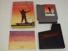 !!! Nintendo NES juego Robin Hood OVP, usados pero bien (2)!!!