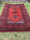 Vintage Traditional Kashimar Belgium 100% Wool Rug 3metres By 2 Metres