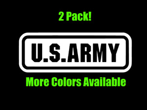 US Army Car Window Decal Sticker Veteran Military Truck Wall America Laptop