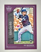 2021 Diamond Kings Base Plum Frame Short Print #128 Nick Madrigal - White Sox RC