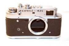 VINTAGE ZORKI -4K RANGEFINDER CAMERA BODY ONLY CASED  USSR  VGC SPARES REPAIR