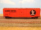 HO SCALE KAR-LINE ILLINOIS CENTRAL IC #11298 50' BOX CAR