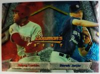 1994 94 Bowman's Best Barry Larkin Derek Jeter Rookie RC #95, New York Yankees