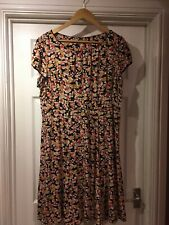 Gorgeous floral M&S Marks and Spencers dress 20