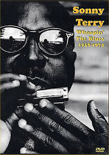Sonny Terry Whoopin' The Blues Harmonica DVD 1958 1974