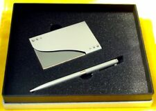 Metal Ball Pen & Matching Card Box Set