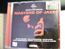 CD   MASTERS OF JAZZ   B.Holiday,E.Fitzgerald,M.Davis..