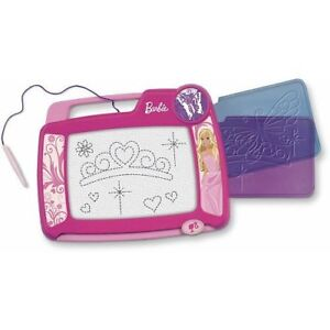 FISHER PRICE BARBIE DOODLE PAD PRO MAGNETIC DRAWING SCREEN PINK P7942 2011 *NEW*