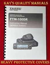Highest Quality ~ Yaesu FTM-100DR Manual on 32 LB Paper ~ C-MY OTHER MANUALS!!