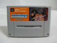 SNES -- DARIUS TWIN -- Super famicom. Japan game. work fully. 11984