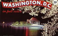 WASHINGTON D.C Advertise Photobook Booklet Published by Silberne Souvenir Sales
