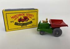 Original MATCHBOX MOKO LESNEY No 2 Dumper Tractor Truck Driver Diecast Model Box