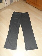Grey Herringbone Soft Stretch Trousers Cotton Traders Size 20 Brand New in Bag