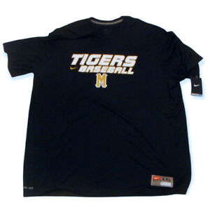 Nike Missouri Tigers Baseball Mizzou Team Issue Legend Dri-Fit Shirt 2XL NWT
