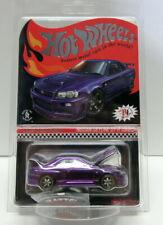 2020 Hot Wheels Red Line Club RLC Membership Nissan Skyline GT-R BNR34 Purple