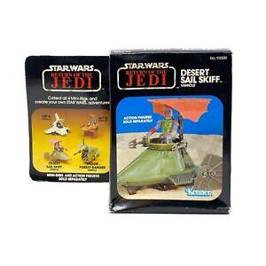 1983 Kenner vintage Star Wars DESERT SAIL SKIFF SEALED Misb 🔥Boba Fett Mando NR
