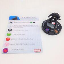 Heroclix Avengers vs X-Men set Black Panther #007 Limited Edition figure w/card!