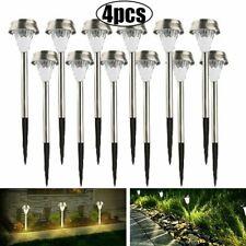 12PC Solar Power Pathway Lights Outdoor Garden Landscape LED Yard Path Lawn Lamp