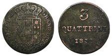 Italien Firenze Leopoldo II, 3 Quattrini 1832