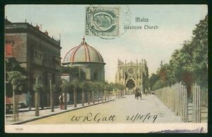 Mayfairstamps Malta 1900s Wesleyan Church Cancelled Picture Postcard wwp79649