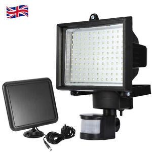 120LED Solar Powered Motion Sensor Light Outdoor Garden Security Lamp Floodlight