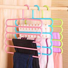 Racks Multi-functional Innovative Hanger Scarf Racks Anti-slip Pants Folder