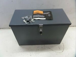 BRAND NEW and UNUSED secure lockable parcel drop box courier parcel drop box