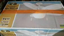 """Hampton Bay Palm Beach III 48"""" Indoor/Outdoor Ceiling Fan in White w/ Light Kit"""