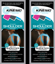 KINESIO Pre Cut Tape - PACK OF 2 - SHOULDER injuries & support. FREE POST
