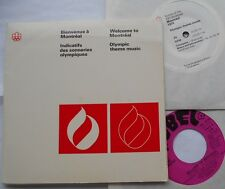 *MONTREAL 1976 OLYMPIC GAMES Music ANDRE MATHIEU...CANADA PS 2 45 rpm EP
