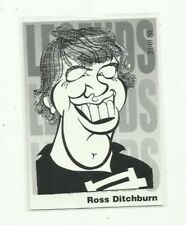 2005 AFL CARLTON BLUES ROSS DITCHBURN WEG ART LEGENDS CARD #31