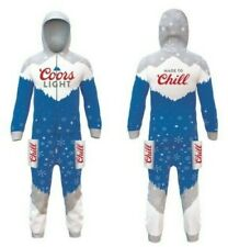 Coors Light Hooded One-piece - Brand New, Unopened Package, Size L