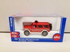 Siku 1/50 Die Cast #2306 Mercedes-AMG Gy5 Feuerwehr