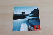 85270) Alfa Romeo 147 156 1.9 JTD Prospekt 11/2002