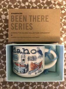 Starbucks 2oz IDAHO Demi Tasse BEEN THERE mug Ornament Cup Mini Mug NIB
