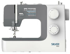 Silver 303 Electric Sewing Machine with 2 Year Warranty