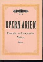 Opernarien Russischer und sowjetischer Meister für Bariton ( Soldan )