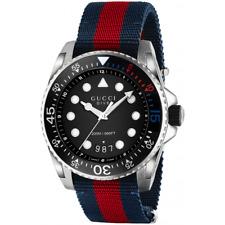 68105c6f752 GUCCI Dive Black Dial Men s Watch YA136210