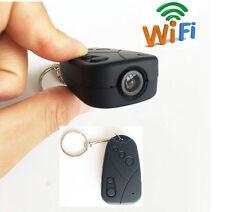 wireless IP WIFI Internet DIY Car key hidden spy camera 720p HD dvr recorder