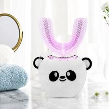 Children Kids Automatic Electric Toothbrush 360° U-Type Teeth Whitening Brush