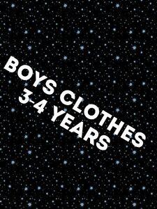 Boys Clothes Make Your Own Bundle Size 3-4 years Short Coat Jean Legging T-Shirt