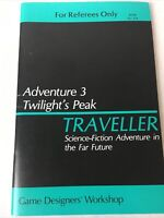 GDW Classic TRAVELLER RPG Adventure 3 Twilight's Peak  For Referees Only